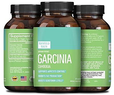 95% HCA Garcinia Cambogia Extract Weight Loss Pills for Men & Women - Fat Burn Supplement Carb Blocker Appetite Suppressant Metabolism Boost - Pure Garcinia Cambogia with Chromium