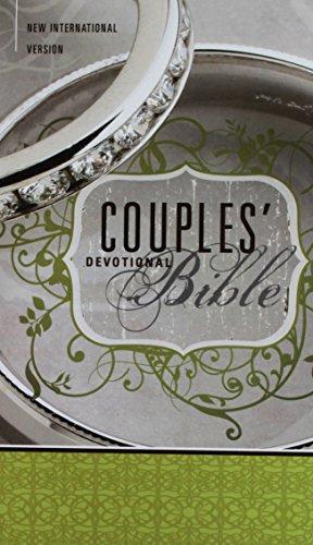 [NIV, Couples' Devotional Bible, Hardcover] (Wedding Bible)