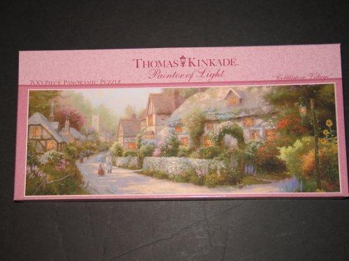 Cobblestone Village 700 pc Jigsaw Puzzle by Thomas Kinkade ()