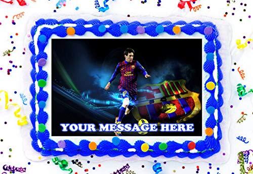Lionel Messi - Decoración comestible para tarta, diseño de ...