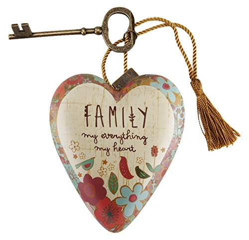 Heart Art (DEMDACO Family My Everything Art Heart Sculpture)