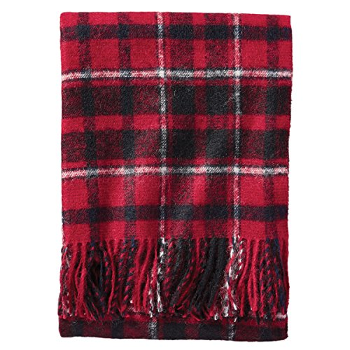 (Pendleton Stratton Plaid Boucle Throw,)