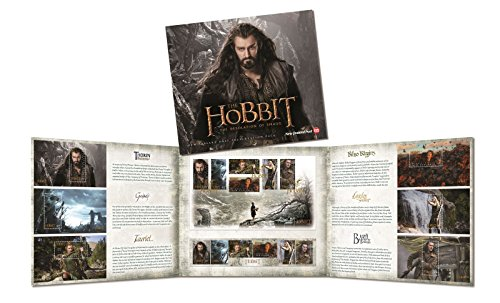 New Zealand Post The Hobbit: The Desolation of Smaug 6 Miniature Sheets 6 Self-adhesive Collector Stamps Presentation Pack ()
