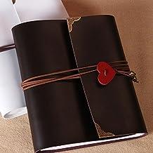 SAIBANG DIY Album Wedding LOVE Design Scrapbook Vintage Photo Album Anniversary Scrapbook DIY Photo Albums Valentines Day Gifts Christmas Gifts (S, Black)