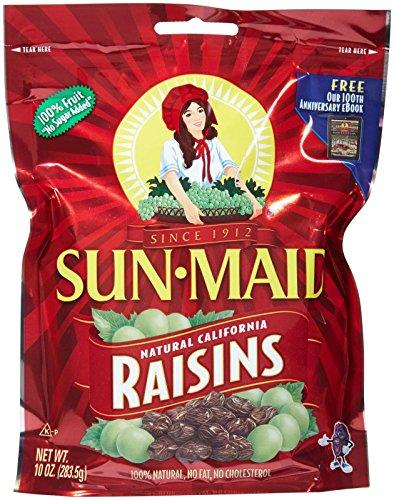 Sun Maid Raisins Pouch - Natural California - 10 oz