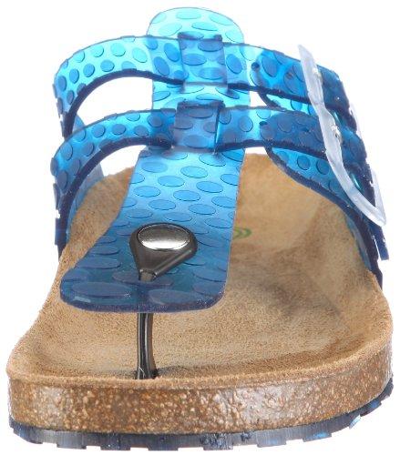 Dr. Brinkmann 700518 700518 - Zuecos de caucho para mujer Azul