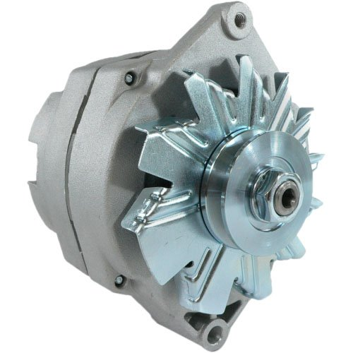 DB Electrical ADR0336 Alternator for GM Vehicles, Chevrolet GMC Buick Oldsmobile Pontiac 1968-89, High Output 105 Amp, External Fan, 3-Wire ()
