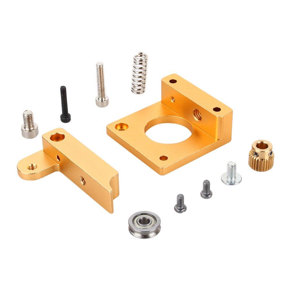 Right-hand MK8 Extruder Aluminum Frame Block DIY Kit