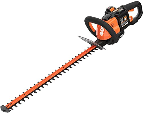 WORX WG284 40V Power Share Cordless 24 Hedge Trimmer 2x20V Batteries