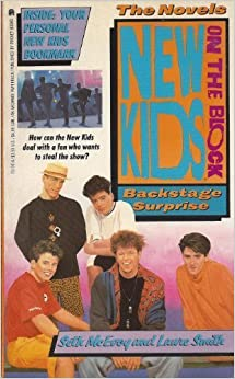 NEW KIDS ON THE BLOCK NOVEL: BACKSTAGE SURPRISE: Looking Your Level Best at Any Age