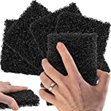 Restaurant-Grade Griddle Cleaning Pads 5 Pack. Use