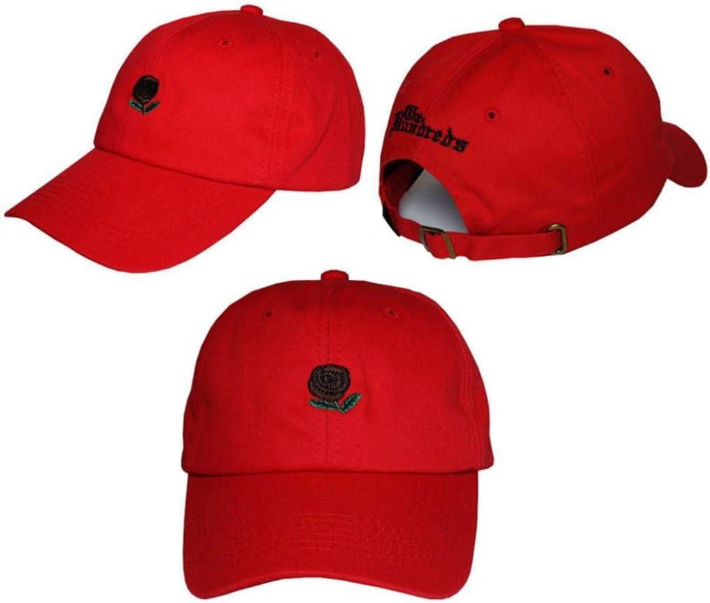 collectsound - Gorra de béisbol con diseño de Rosas Bordadas al ...