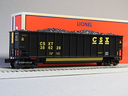 Bathtub Coal Gondola - LIONEL CSX ROTARY BATHTUB GONDOLA 386228 o gauge train freight 6-19382