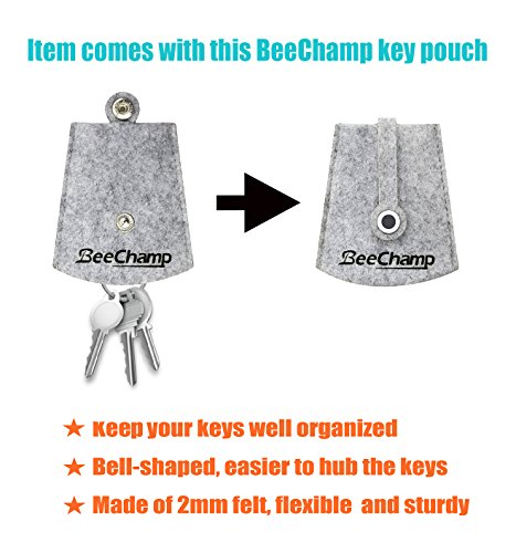 BeeChamp Stainless Steel Screw Locking Oval Quick Link Carabiner, 3 Pack