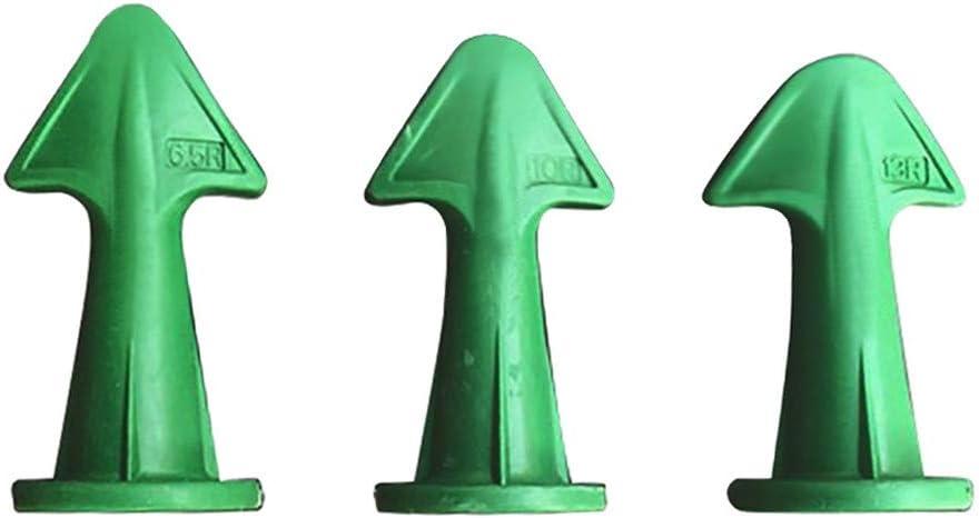 3 in 1 Silicone Caulking Finisher Gummi Caulking Finisher Gr/ün Dichtungswinkelschaber Silikonm/örtel Dichtungswerkzeuge Dichtungsd/üse Silikon-Dichtmittel Glatter Finishing-Dichtungs