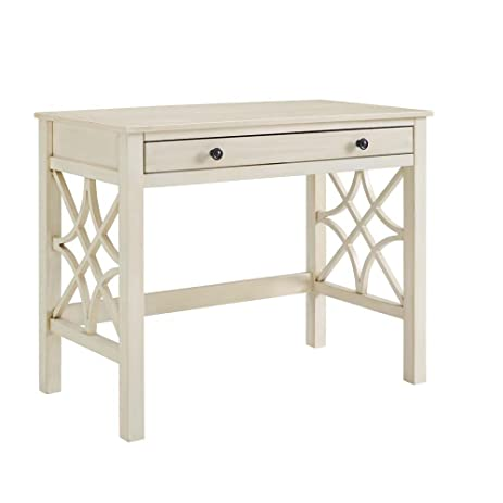 Linon Whitley Antique White Desk - Amazon.com: Linon Whitley Antique White Desk: Kitchen & Dining