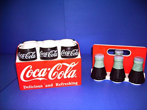Jar Coke Cookie (Coca-cola Ceramic Six-pack Cookie Jar)