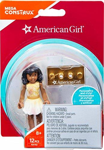 Mega Construx American Girl Figure Building Set, Gold