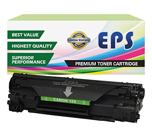 EPS Compatible Replacement for Canon 128 (3500B001) Black Toner Cartridge