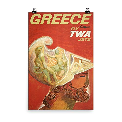Vintage poster - Greece 0516 - Premium Luster Photo Paper Po