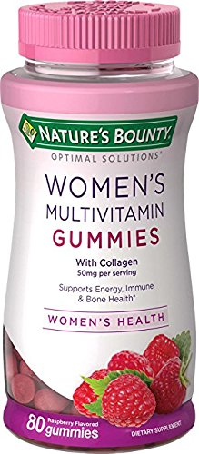 Nature's Bounty Optimal Solutions Women's Multivitamin, 80 Gummies - Pack of 6