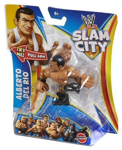 WWE Slam City Alberto Del Rio Figure by Mattel by Mattel