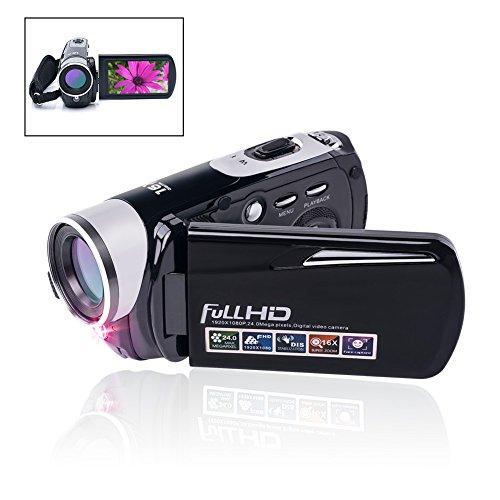 Camcorder Video Camera 24.0MP Digital Camera Full HD 1080p N