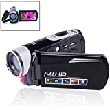Camcorder Video Camera 24.0MP Digital Camera Full HD 1080p Night Vision Pause Function with 3'' LCD Touch Screen Remote Controller