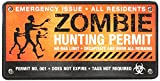 PAPER HOUSE Car Magnet-Zombie Hunting Permit
