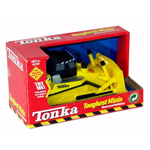 Tonka Toughest Minis Motorized Bulldozer - Lights & (Motorized Bulldozer)