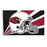 NFL Arizona Cardinals 3-by-5 Foot Helmet Flag