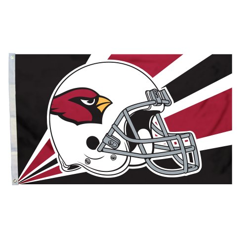 Fremont Die NFL Arizona Cardinals 3-by-5 Foot Helmet Flag