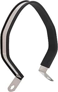 Silenciador de tubo de escape Silenciador hex/ágono universal de motocicleta Tubo de silenciador de escape Silenciador Soporte de montaje de suspensi/ón color primario