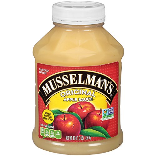 Musselman's Original Apple Sauce, 48 Ounce (Pack of 8)