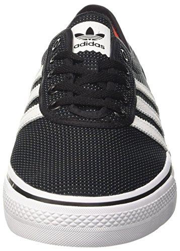 adidas Unisex-Erwachsene Adi-Ease Skateboardschuhe Mehrfarbig (Cblack/ftwwht/energy)