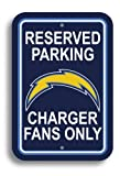 NFL Los Angeles Chargers Plastic Parking Sign