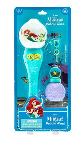 (Disney Parks The Little Mermaid Musical Light-Up Bubble Blower)
