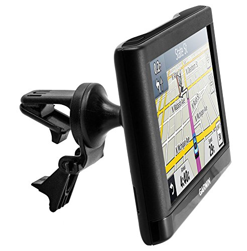 Arkon Removable Swivel Air Vent GPS Car Mount Holder for Garmin nuvi 40 50 200 2013 24x5 25x5 ()