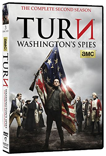 DVD : TURN - Washington's Spies: The Complete Second Season (3 Disc)