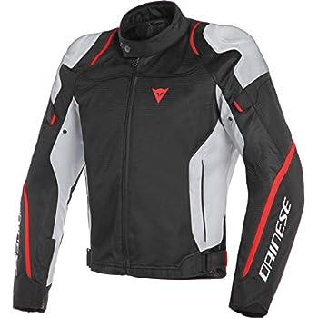 3562e5c6bc39 Dainese Air Master Mens Textile Jacket Black/Glacier Gray/Fluo Red 58  Euro/48 USA