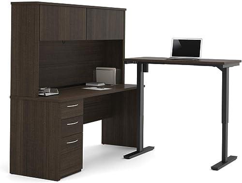 Bestar 2-Piece Set Including a Standing Desk and a Desk Review