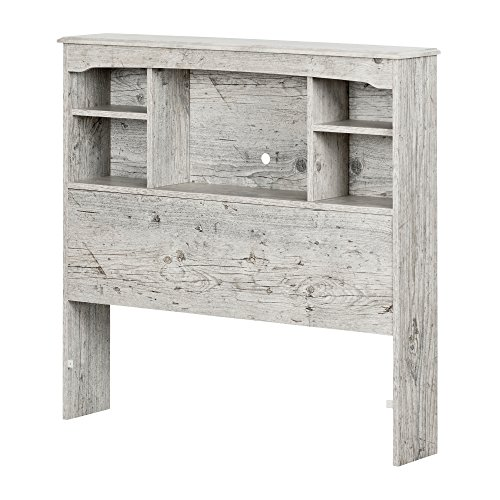 Modern 39' Twin Size Bookcase Bed Headboard, Wooden Construction, Multiple Finish Construction + Expert Guide
