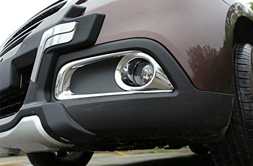 ABS Chrom Nebelscheinwerfer Lampe Verkleidung 2 F/ür 2008 2014-2017