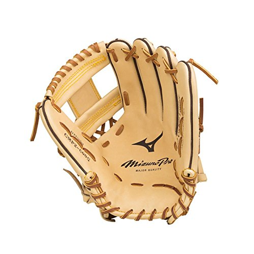 "Mizuno GMP2-600D Mizuno Pro Infield Baseball Glove, Tan, 11.75"" Right Hand Throw"
