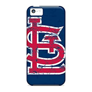 New Style Edwave St. Louis Cardinals Premium Tpu Cover Case For Iphone 5c