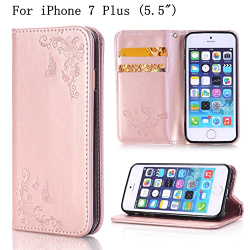 iPhone Heyqie Embossing Butterfly Leather product image