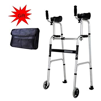 Amazon.com: MU-WALKER - Andador plegable de aluminio ligero ...