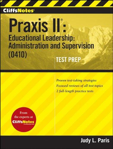 praxis ii educational leadership - 5
