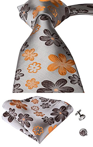Handkerchief Mens Necktie Set - 5