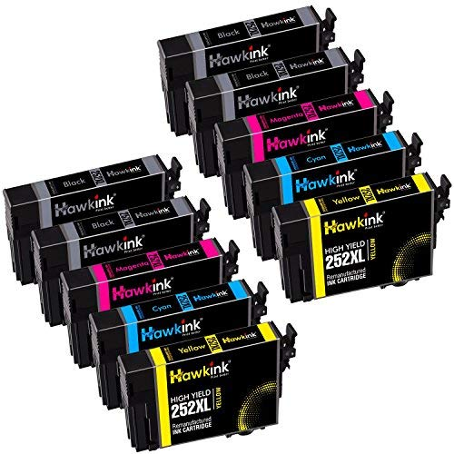 Hawkink Remanufactured Ink Cartridge Replacement for Epson 2